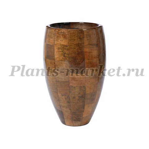 Кашпо Plants first choice Leaf planter round
