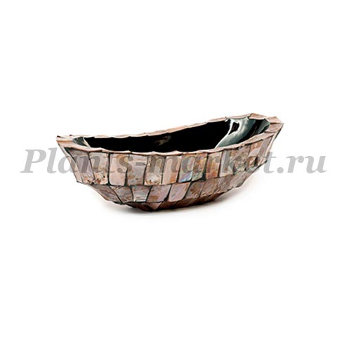 Кашпо Fleur Ami Shell Boat mother of pearl