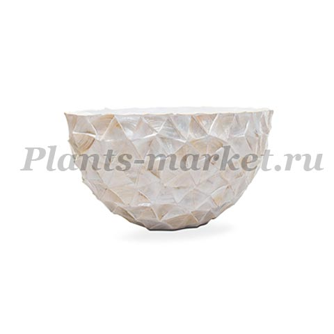 Кашпо Fleur Ami Shell Oval mother of pearl