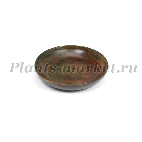 Блюдо Plants first choice wood design plate